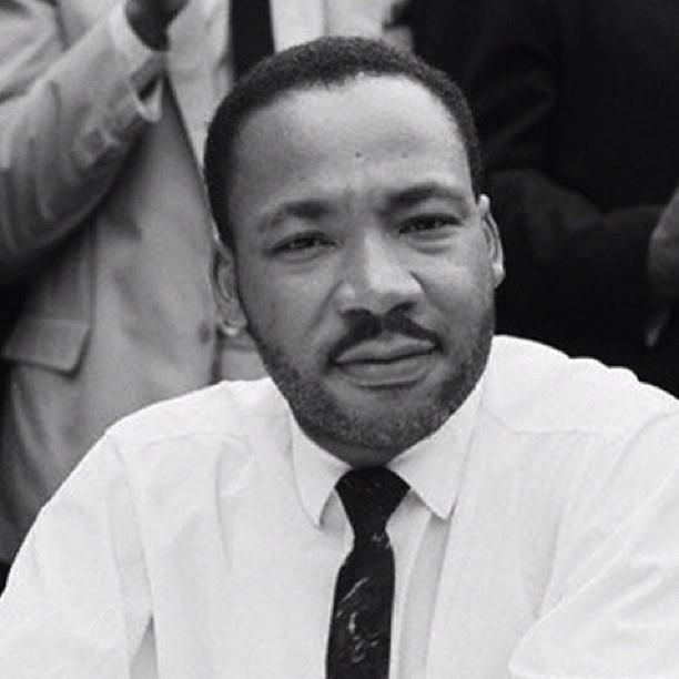 Dr. King with a beard! | African Heritage City