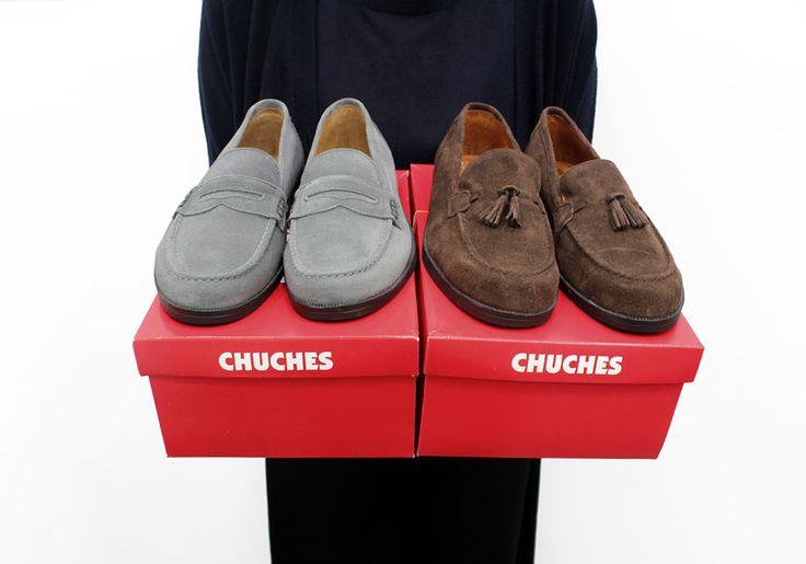 Chuches mocassins at Arropame concept store in Bilbao #arropame #conceptstore #bilbao #fashion #shoes #mocasin #agender #gifts #regalo http://arropame.com/mocasines-chuches-una-necesidad-una-casualidad-un-descubrimiento-un-deseo/
