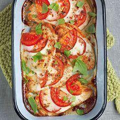Schnitzel Tomate-Mozzarella Rezept   Küchengötter