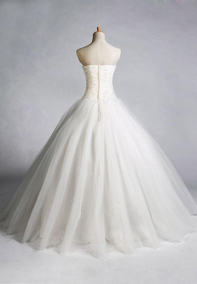 Easy Tulle Skirt Pattern Gt Bride Gt Tulle Strapless