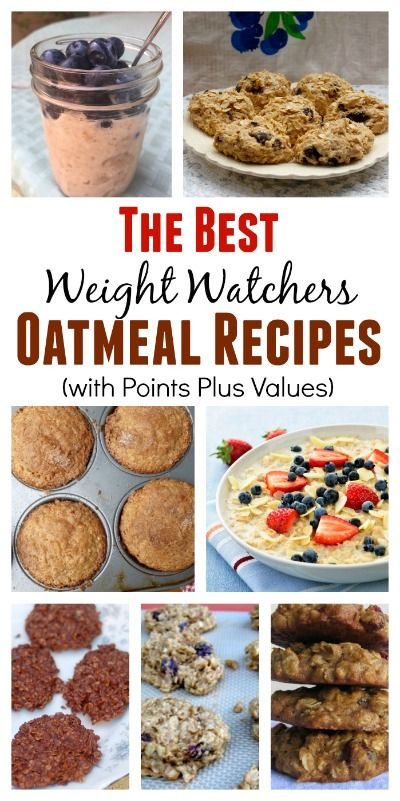 35+ Oatmeal Recipes for Breakfast & Beyond with Weight Watchers SmartPointsPlus