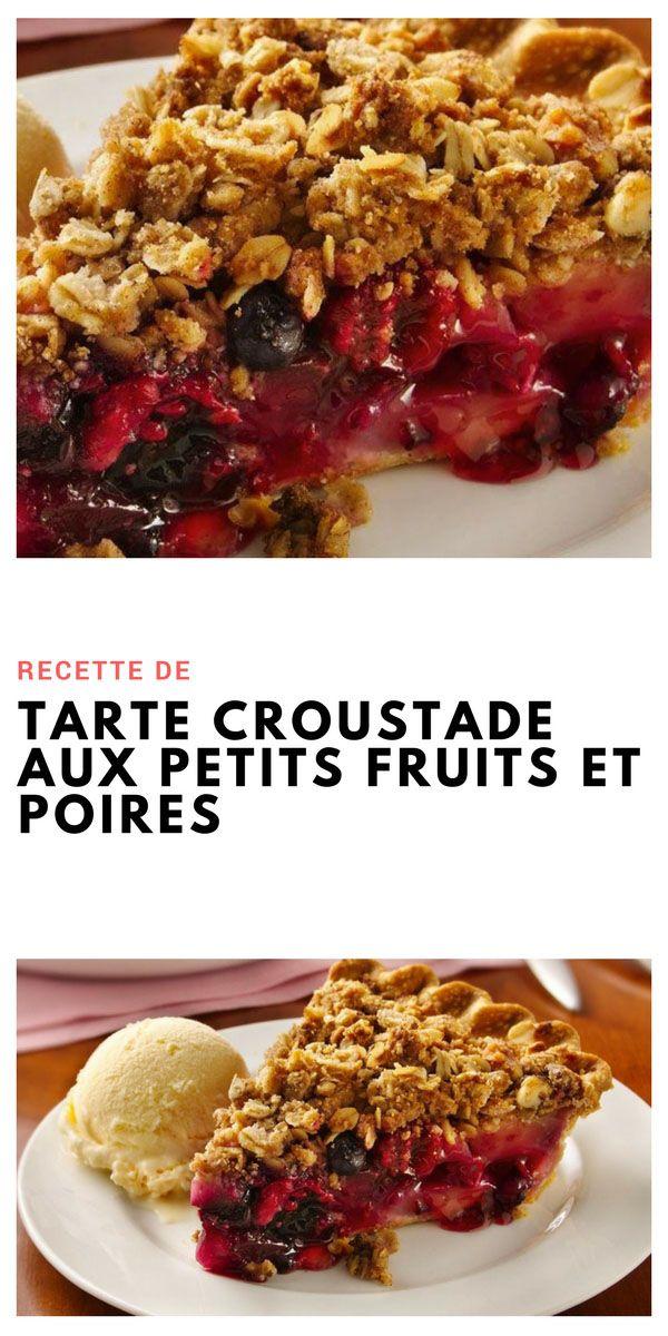 #tarte #Croustade #petitfruits #poire