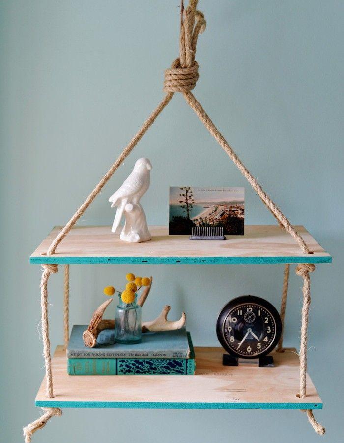les 25 meilleures id es de la cat gorie tag res suspendus. Black Bedroom Furniture Sets. Home Design Ideas