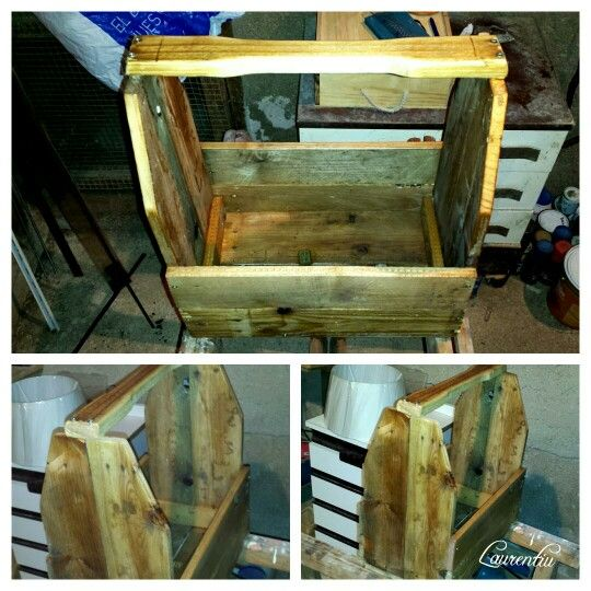 Pallets tools box