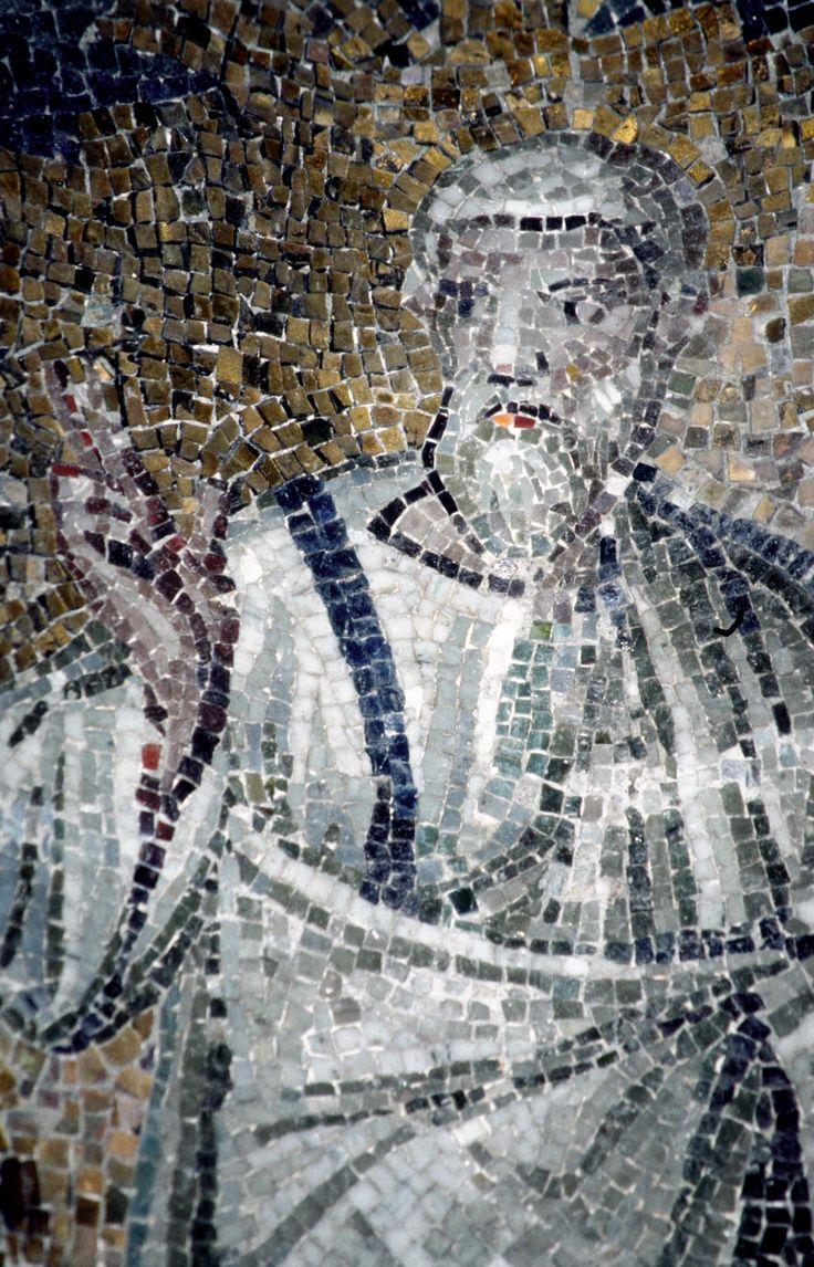 Battistero degli Ortodossi, Ravenna. I Mosaici del periodo del vescovo Neone. 450-475. San Pietro