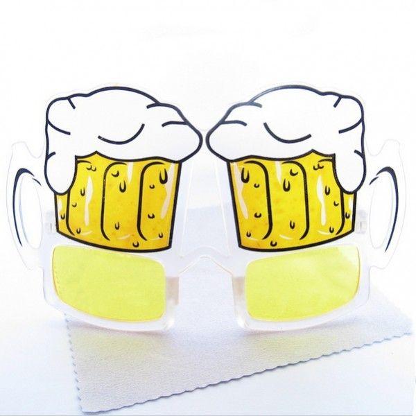 Bira Bardağı Şeklinde Gözlük