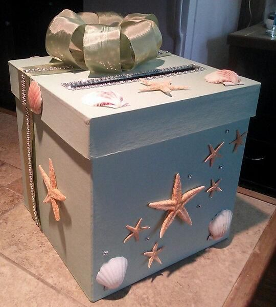 Place an Under the Sea box on your gift table for cash & gift cards! http://www.quinceanera.com/decorations-themes/sea-quinceanera/?utm_source=pinterest&utm_medium=article&utm_campaign=503-sea-quince-theme