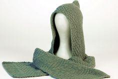 La sciarpa con cappuccio in cachemere di Gomitoli's