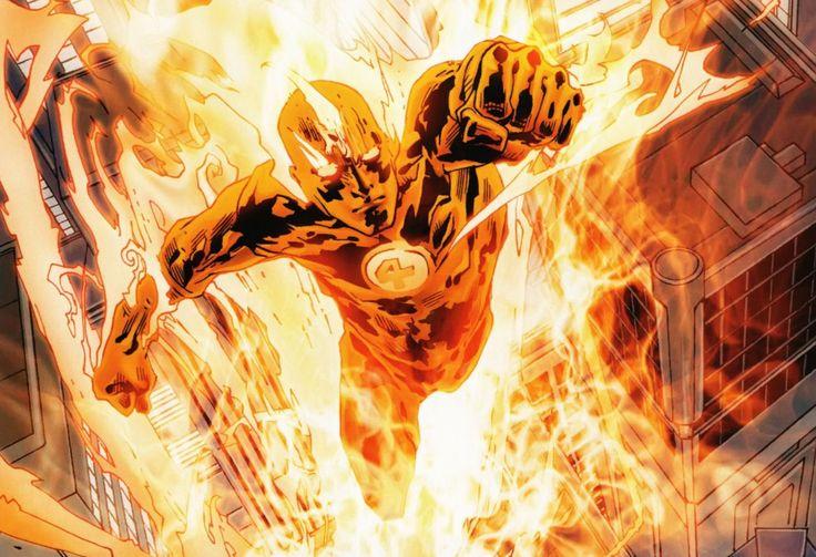 "Human Torch (La Torche Humaine) / Jonathan Lowell Spencer ""Johnny"" Storm. Uncanny X-Men 13,27"