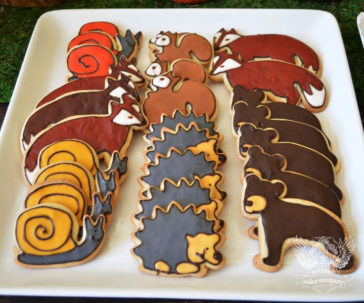 Woodland Cookies (Cookie Cutters from IKEA)