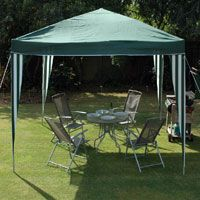 Popular due to the convenience of being able to transport them around with you for any necessary occasion, whether it is a garden party or a festival. Pack them up easily for transport and then assemble them with no problems. Product Info: Green polyester (160gsm) roof cover. Made from powder coated steel tube frame and ribs. Complete with tie ropes. Comes with a storage carry bag.