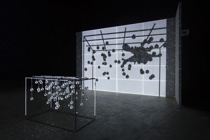 "Joan Jonas, ""Light Time Tales"", 2014. Installation views Fondazione HangarBicocca, Milan Photo Agostino Osio. Courtesy Fondazione HangarBicocca, Milan"