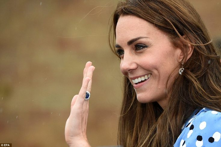 Staff had made sticky toffee pudding cakes for Kate, who, they had been told, is partial to them