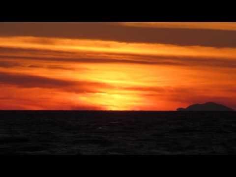 Sunset In Rhodes Island Of Greece | Закат На Острове Родос Греция