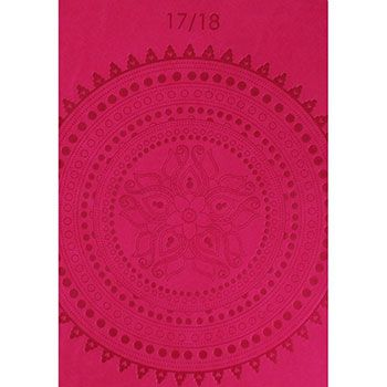 Buy Pink A5 Embossed Mandala Academic Diary 17-18 - Week To View  online from The Works. Visit now to browse our huge range of products at great prices.