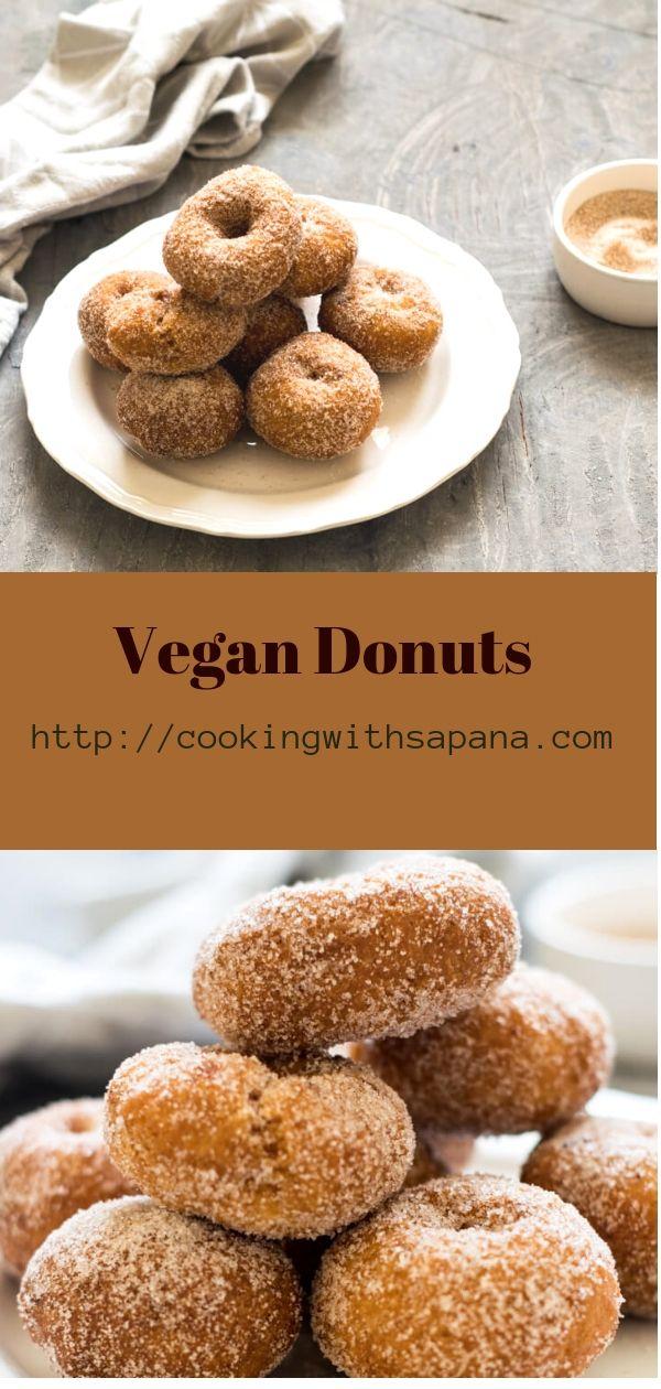 Vegan Mini Doughnuts
