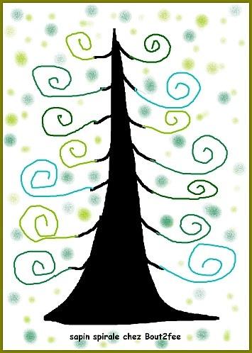 """Arbres amb espirals, (estil KLIMT """"arbre de la vida"""")"""