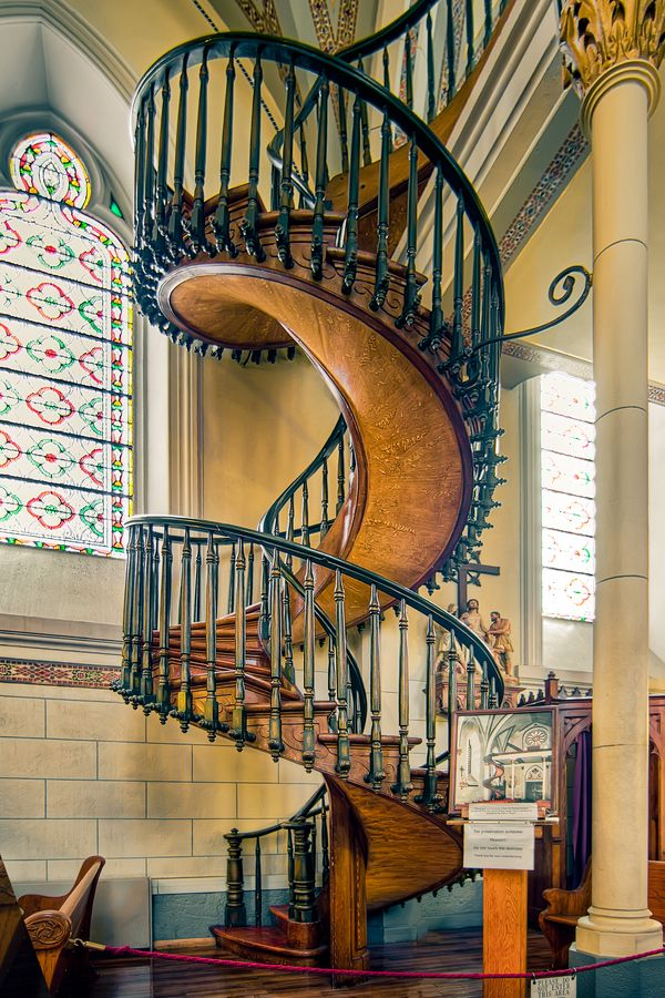 Best Loretto Chapel New Mexico Stairs Pinterest 400 x 300