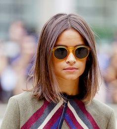 Love this simple cut and colour (and the sunnies rock too)