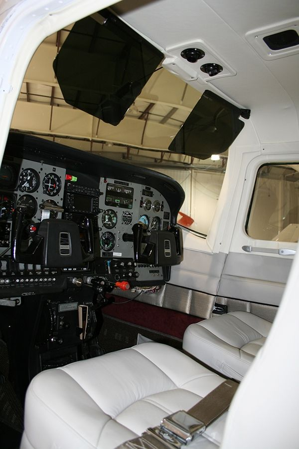 Control Panel Layout Cessna 210   Cessna 210 Aircraft Interior Redesign on Behance