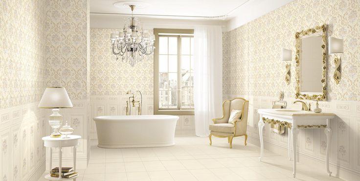 Ванная комната в классическом стиле, так как ему присуща особенная грациозность, помпезность и величие. Это выражается в отдельных декоративных элементах: люстрах, канделябрах, зеркалах, рамках. Этот стиль рациональнее всего использовать для ванных комнат, которые имеют большую площадь. Резная мебель, винтажная сантехника, цвета меди или золота с налётом старины, люстры и бра металлические. #классическая_ванная_комната #золотая_ванная_комната #большая_ванная_комната