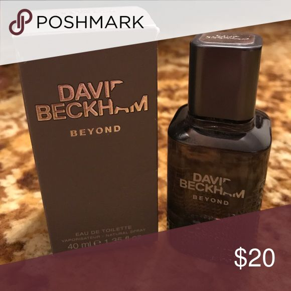 David Beckham Beyond cologne 1.35 oz. Brand new - David Beckham Beyond cologne 1.35 oz. David Beckham Other