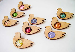 bird brooches (schall eszter)