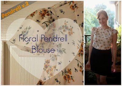 Floral Pendrell blouse