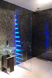 Bathroom Shower Lighting Ideas 47 best bathroom lighting images on pinterest | room, architecture