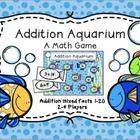 Addition Aquarium Math Game by Joyful Rigor with Ms Jones | Teachers Pay Teachers