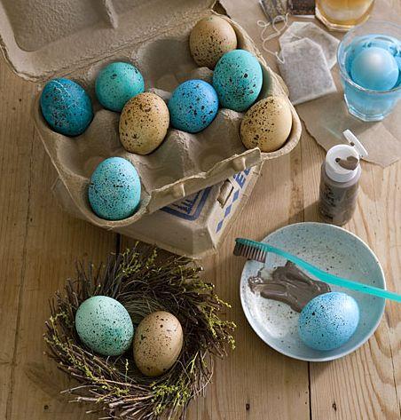 Love these DIY eggs