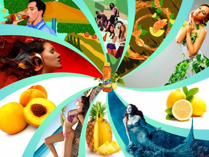 Banner online - Nestea - CoMas Advertising
