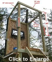 deer hunting stand