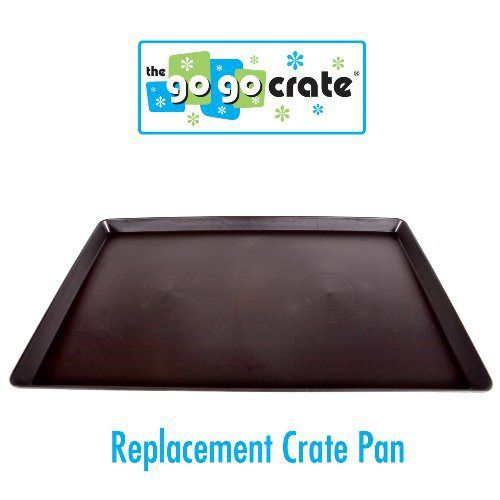 GoGo Pet Products Plastic Dog Crate Replacement Pan/Tray, 48-Inch - http://www.thepuppy.org/gogo-pet-products-plastic-dog-crate-replacement-pantray-48-inch/