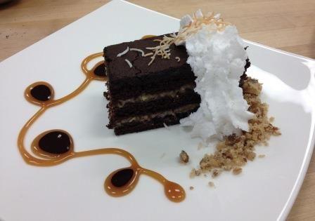 German Chocolate Cake With Devil