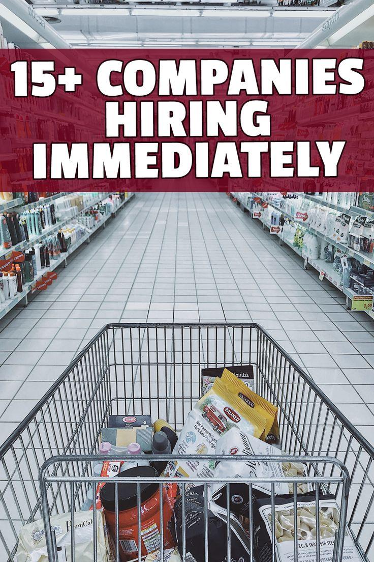 15+ Companies Hiring Immediately workfromhome jobs
