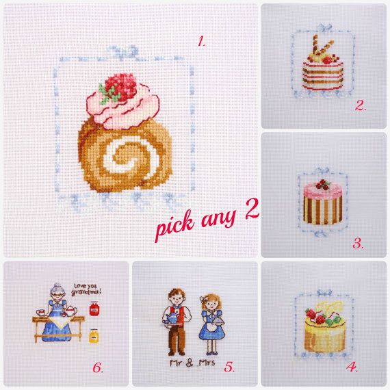 Completed Cross stitch home decor pick any 2 by MeandMamaCreations