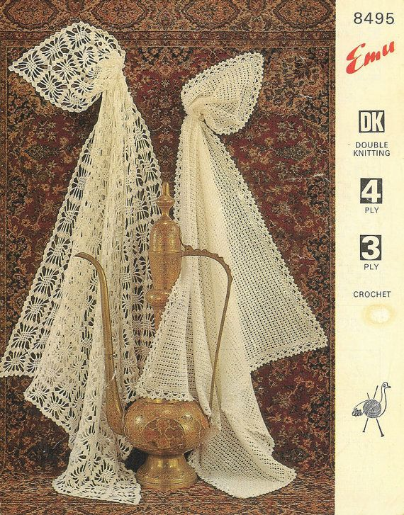1000  images about vintage shawl knitting patterns on pinterest