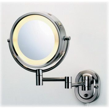 jerdon lighted 5x magnifying wall mount mirror things i don 39 t need