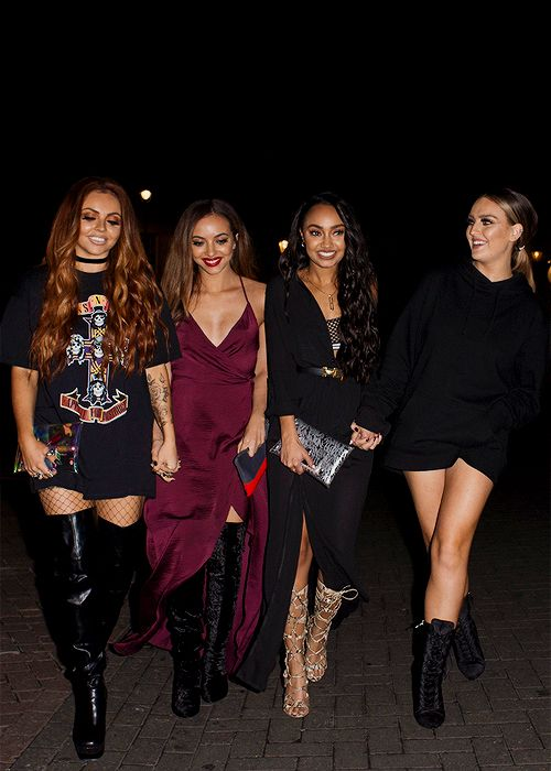 Little Mix out for dinner 11/9