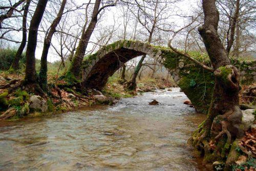Bridge of Alfeios river Arcadia Peloponnese