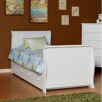 Olivia Twin Sleigh Bed with Trundle