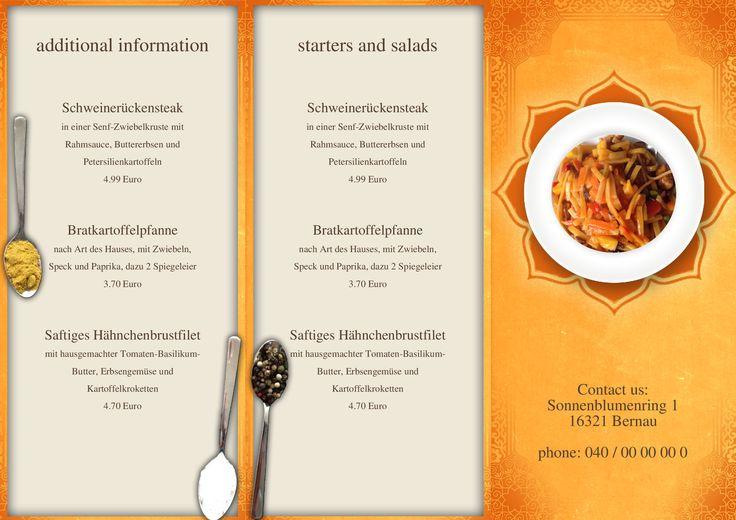 63 best menu card todays menu speisekarte tageskarte for Design your own restaurant