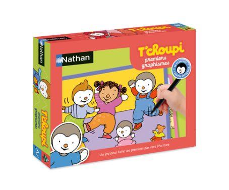 jeux éducatifs   T'CHOUPI   Premiers Graphismes