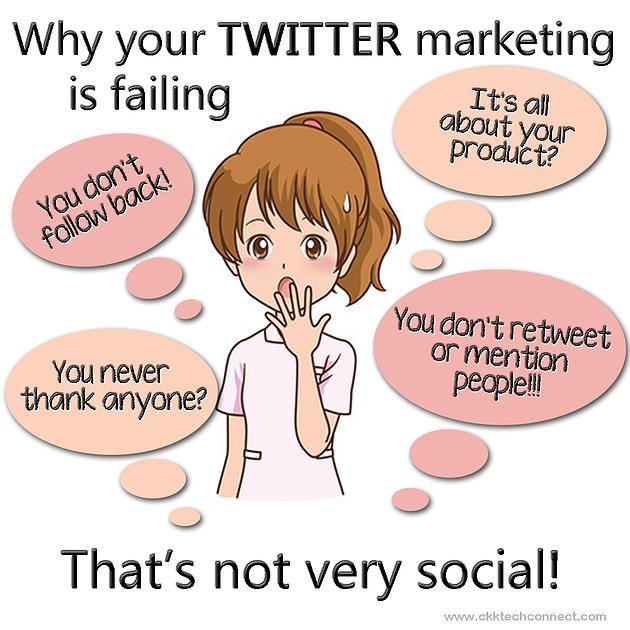 Twitter - You're Doing It Wrong! #Cktechconnect  #OnlineMarketing #specialists, #Ontario #SocialMarketingTraining #SocialMarketing #Management #Virtual #TwitterTips