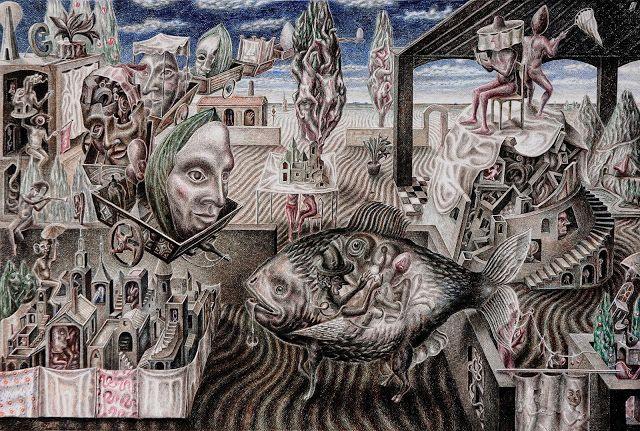 Hablando se entiende la gente.: Una obra de Martín Sapia.