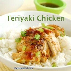 Teriyaki Chicken | Recipe Devil