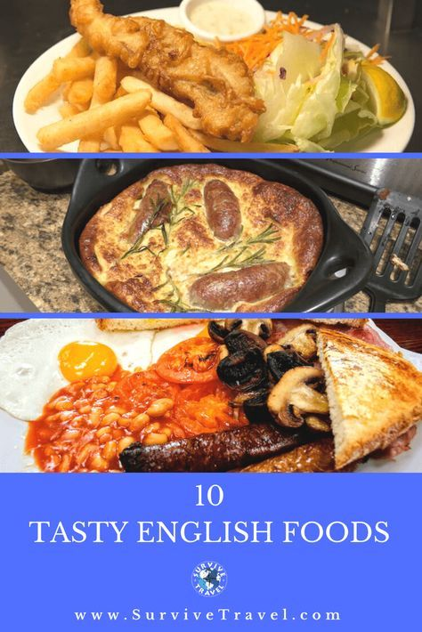 10 Traditional British Foods Bistro English Food Foodie Travel