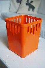 Besteckkorb Bestecktrockner DDR Sonja Plastic H 13,5cm, B/T 10,5cm Ostalgie