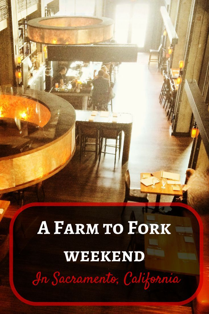 Spend a weekend at the Farm to Fork Resturants of Sacramento, California. Eat some of the best and freshest meals you can get in the middle of the United States largest agricultural state.